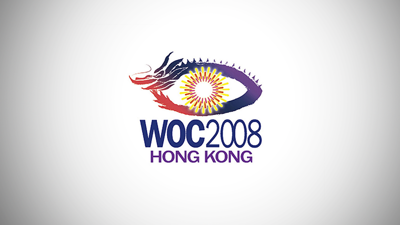 Logo and Identity for WOC 2008 by Edward Chung