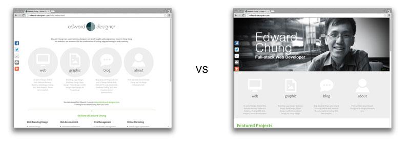 Homepage Layout Testing