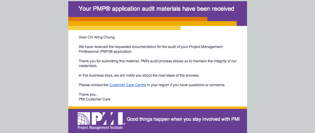 Pmp Audit First Hand Experience Of Oversea Applicant New Pmp