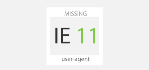 $_SERVER['user-agent'] to check for IE (including IE 11)