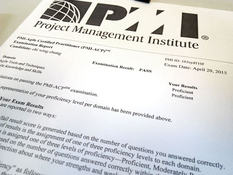 After passing the PMI-ACP exam ... - new PMP, PMI-ACP, ITIL ...