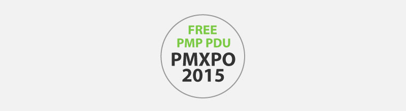 Free PDU for PMP - PMXPO 2015