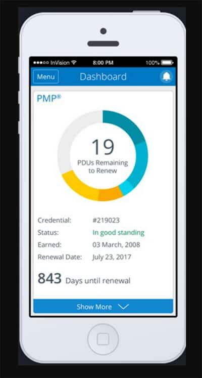 mobile screen optimized using responsive design