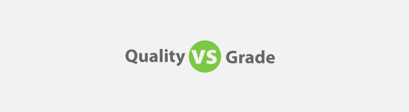 Quality vs Grade for PMP Exam