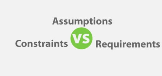 Assumptions vs Constraints vs Requirements for PMP Exam
