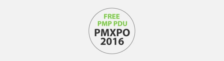 FREE PMP/PMI-ACP PDU for Attending PMXPO 2016