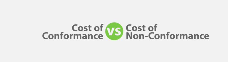 Cost Of Umrah Visa Fees 2019 2020: Cost Of Quality: Cost Of Conformance Vs Cost Of Non