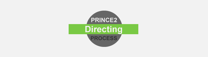PRINCE2 Foundation Certification Notes 13: Directing a Project Process
