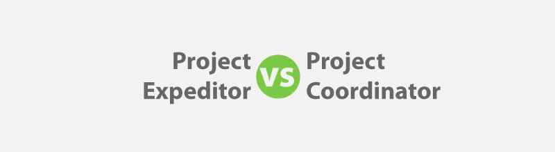project coordinator vs project expeditor