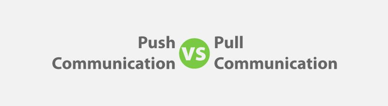 Project Communication Management: Push vs Pull Communication for PMP Exam