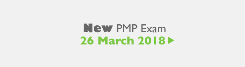 PMP Exam changes on 26th March 2018
